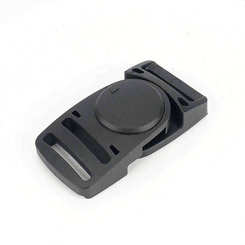 15mm German Fidlock Magnet Buckle Helmet Buckle Automatic Magnetic Backpack Buckle Belt Buckle