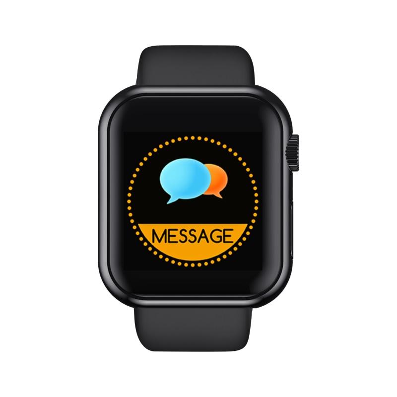 Smart Watch D20 Watch Men Women Blood Pressure Smartwatch men Waterproof Heart Rate Tracker Sports Clock Watch for Android iOS