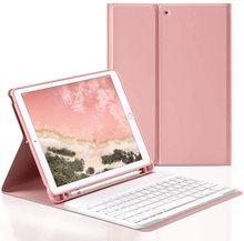Tastatur Für ipad 10,2 Fall W Tastatur für iPad 7th generation Fall Für iPad Air 3 10,5 mini 5 7,9 air 9,7 2017/2018 fall Tastatur
