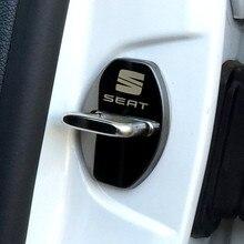 Автомобильный Дверной замок, чехлы, эмблемы, автомобильный Стайлинг, чехол для сиденья ArosaI Alhambra FR Leon, автомобильные аксессуары, автомобильн...