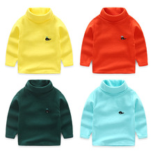 2019 Boys Girls Sweaters Casual Turtleneck Knitted Sweaters Soft Warm Kids Children Sweaters Cardigan Clothes Pullover Sweater цены онлайн