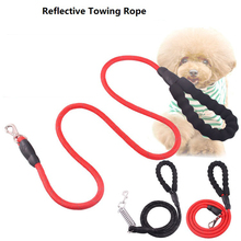 Reflective Towing Rope Pet Lead Leash Running Walk Dogs pets Leashes Dog Chain Dogs Leash Vest Rope Nylon Tenac Pet Supplier reflective large dog leash nylon rope pet running tracking leashes long lead dog mountain climbing rope for medium large dogs