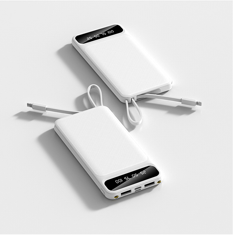 Portable 10000mAh Charging Power Bank For Xiaomi iPhone Samsung Mobile Phone 26