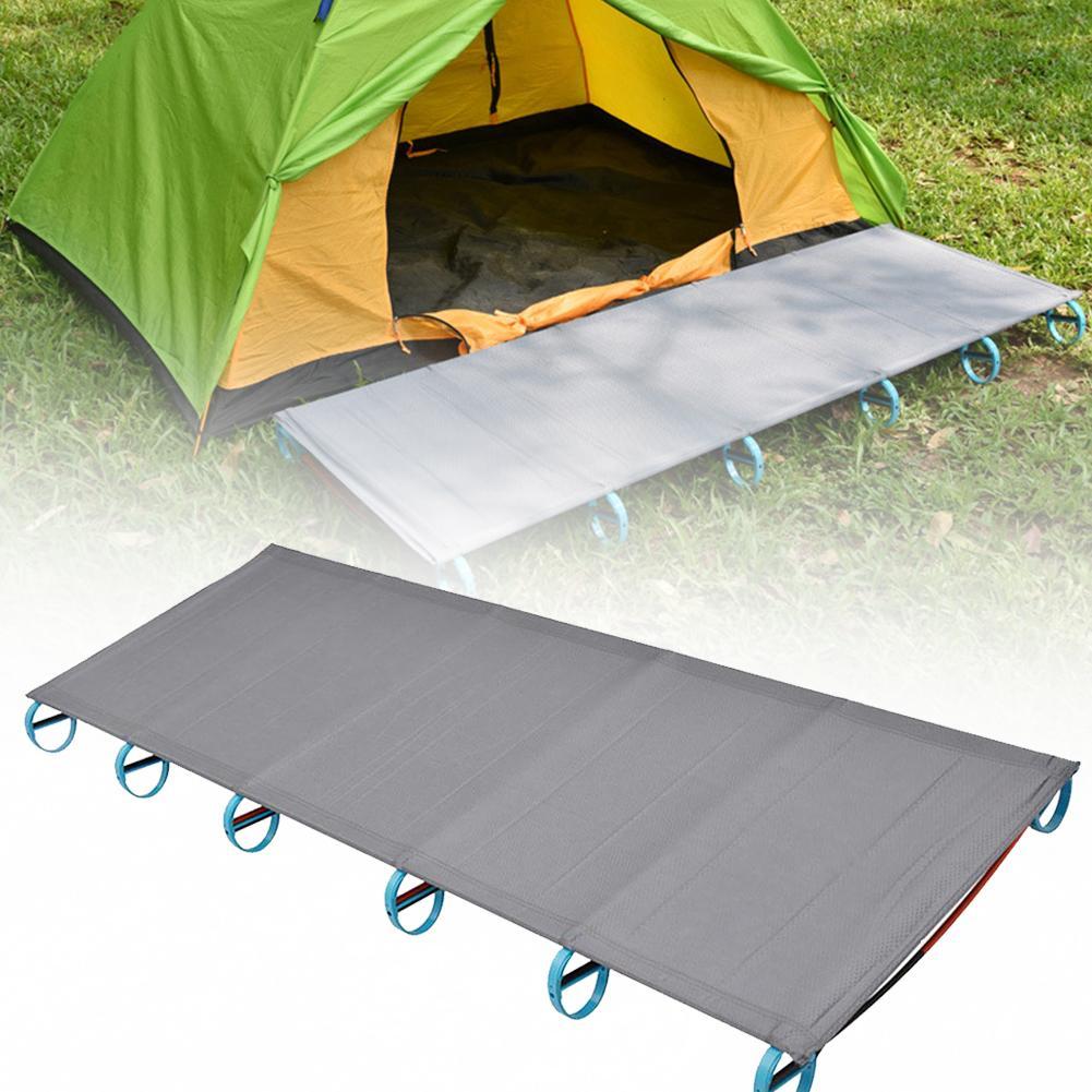 praia ao ar livre esteira de acampamento portatil ultra leve aluminio dobravel cama multi funcao resto