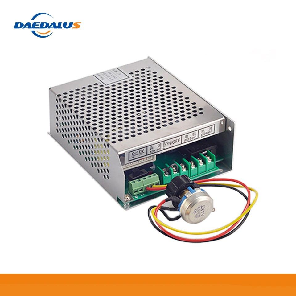 Daedalus 500 w fonte de alimentação do eixo 220 v 110 v mach3 6a 50/60 hz potência do motor do eixo cnc potência de comutação ajustável gorverner