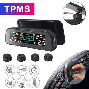 TPMS Solar Power TPMS Car Tire