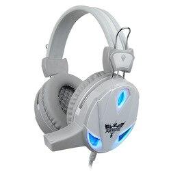 Fone de ouvido com fio brilhando jogos fones de ouvido desktop jogo de computador liga das lendas internet cafés fones graves