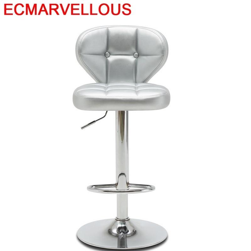 Tabouret De Comptoir Banqueta Todos Tipos Sedia Barkrukken Stoelen Taburete Leather Stool Modern Cadeira Silla Bar Chair