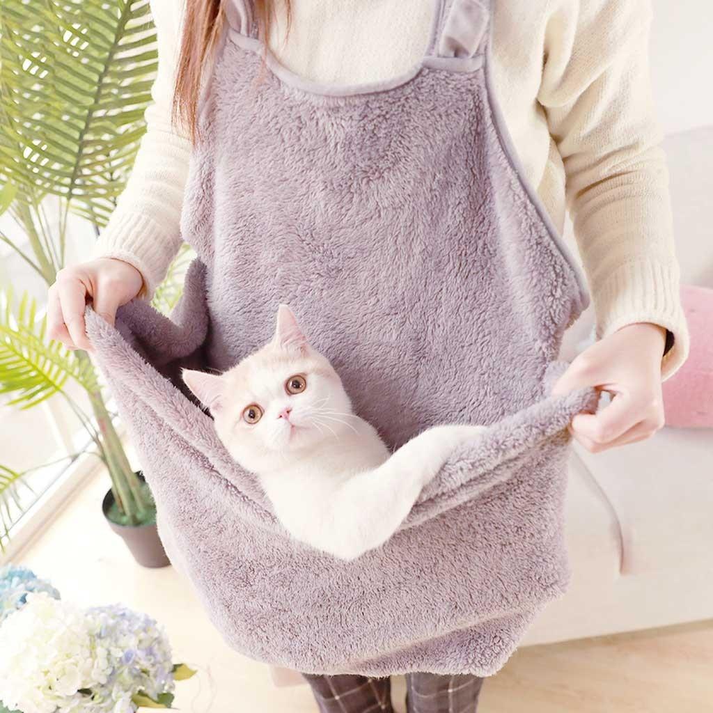 Portable Pet Travel Bag Puppy Cat Carrier Comfort Pouch Dog Puppy Bag Outdoor Travel Sling Shoulder