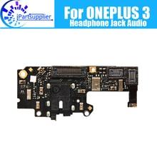 Oneplus 3 Headphone Audio Jack Board 100% Original Headphone Audio Jack Dock Connector Flex