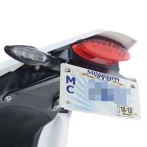 Image 5 - Akcesoria motocyklowe pasuje do KTM 690 SMCR 690 Enduro R uchwyt na tablicę rejestracyjną wspornik tylna ramka mocowana do błotnika Eliminator kit