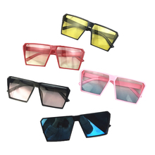 Little Kids Summer Wayfarer Sunglasses Rectangle Frame Candy