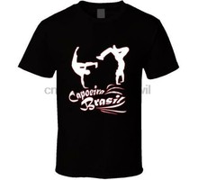 New Capoeira Martial Art Logo White Black Mens Shirt Usa Size S-Xxxl Zm1(China)