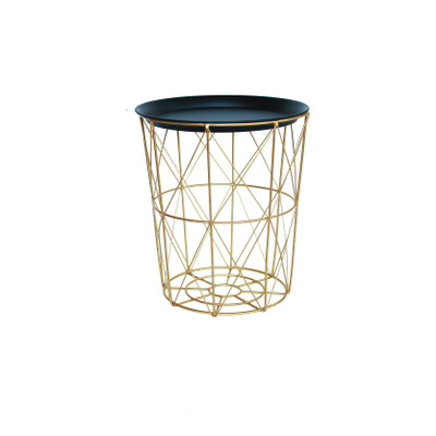 Nordic Style Wrought Iron Baskets Ins Storage Basket Dirty Clothes Storage Bucket Storage Storage Basket With Cover Home Dirty C