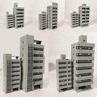 1/150 スケールゲージシーンアウトランド建物モデル現代住宅アパートオフィスモデルのおもちゃ Diy のアセンブリマイクロ風景ギフト