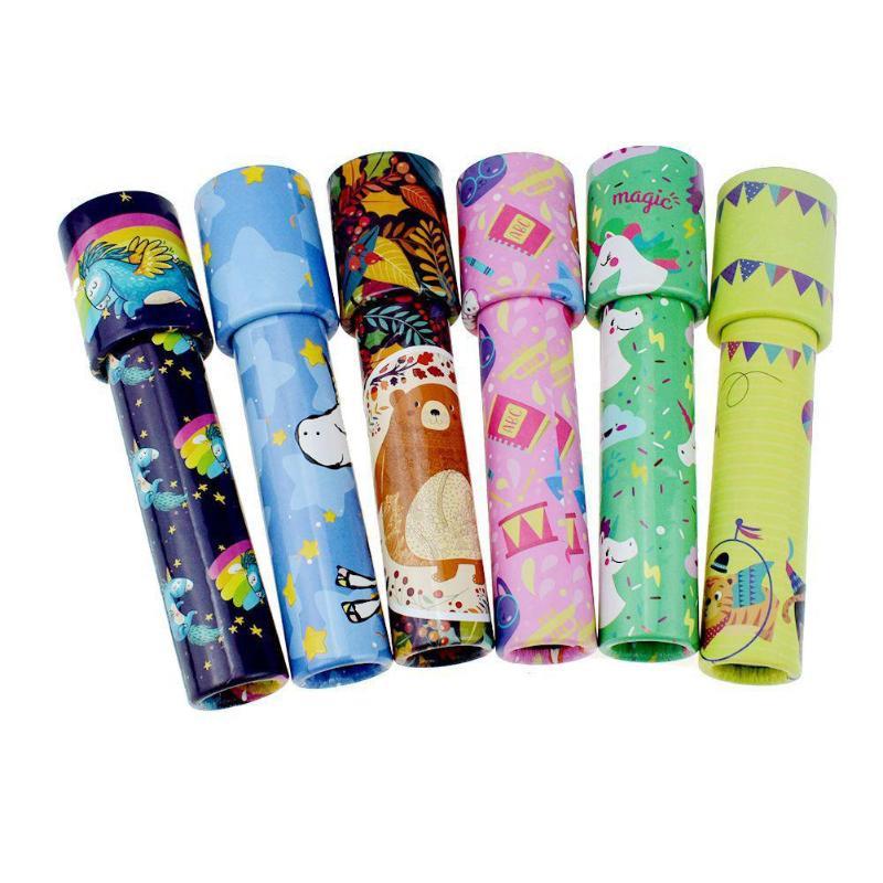 Classic Toys Kaleidoscope Rotating Colorful World Kids Gift Color Random