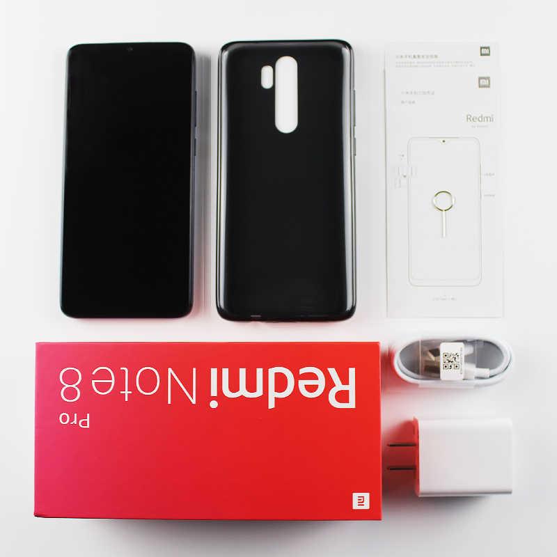 """Global Rom Xiaomi Redmi Note 8 Pro 6 Gb Ram 128 Gb Rom Mobiele Telefoon 64MP Quad Camera Helio G90T octa Core 6.53 """"4500 Mah Nfc"""