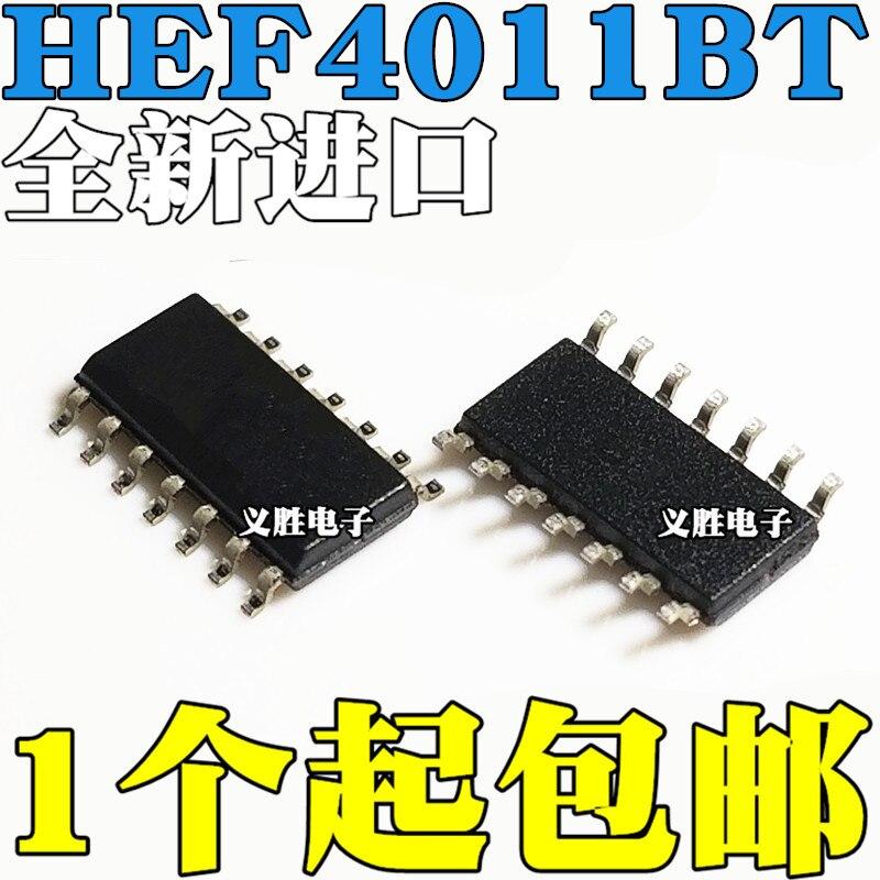 Original 5pcs/ HEF4011BT HEF4011 SOP14