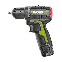 Electric-Screwdriver Professional-Tool Cordless Brushless-Motor 1-Battery WU130 Worx 12v