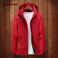 Куртка женская свободная с капюшоном , водонепроницаемая 1
