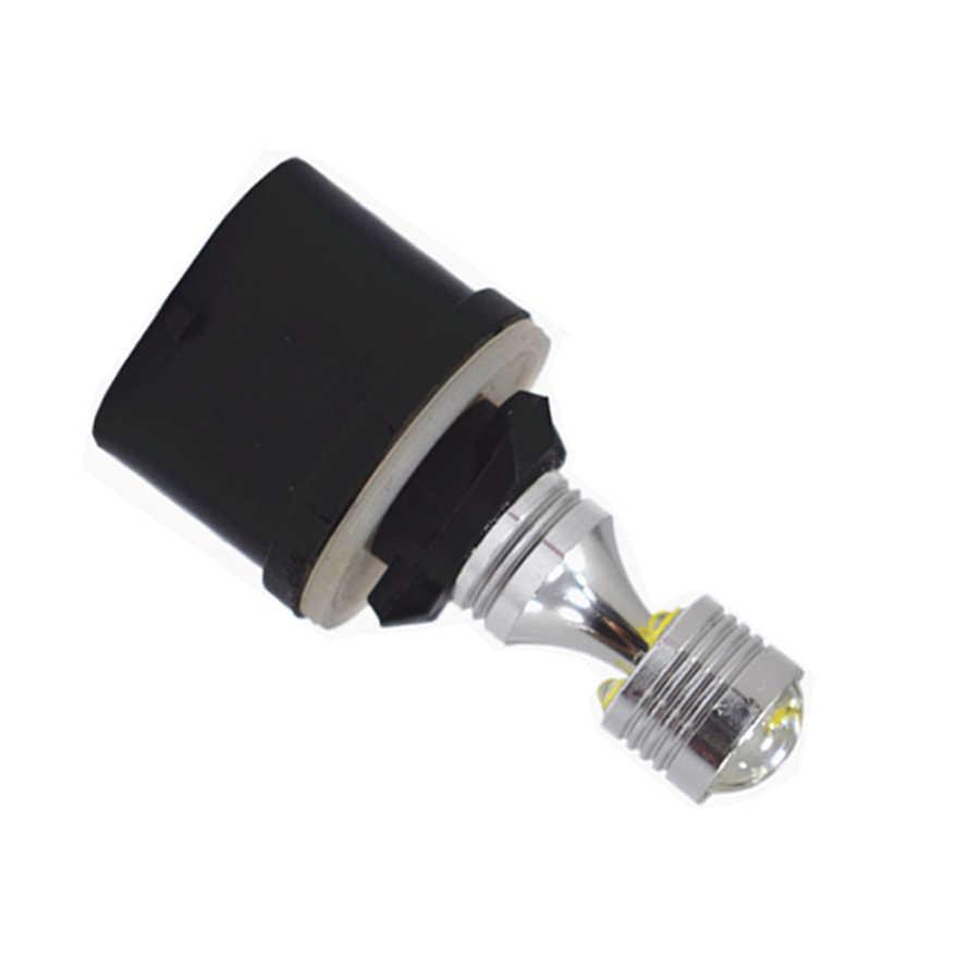 HYZHAUTO 1Pcs H27 881 880 H27W H27W2 ไฟ LED หมอกรถ 6-XBD 30W LED DRL สีขาว 6000K auto ภายนอกขับรถ 12V