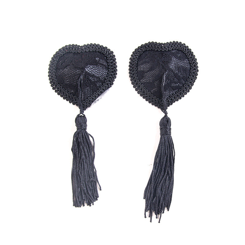 New Sex Toys For Couples Women Lingerie Lace Tassel Breast Bra Nipple Cover Pasties Sexy Erotic Tools For Women Accessories