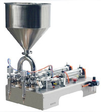 Double Head pneumatic cream /paste filling machine can t miss 300 2500ml double head liquid or softdrink pneumatic filling machine
