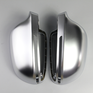 Image 1 - Car Mirror Cover For Audi B8 A3 A4 A5 A6 S4 RS4 S6 RS6 1 Pair of Matte Chrome Rearview Mirror Cover Protection Cap Car Styling
