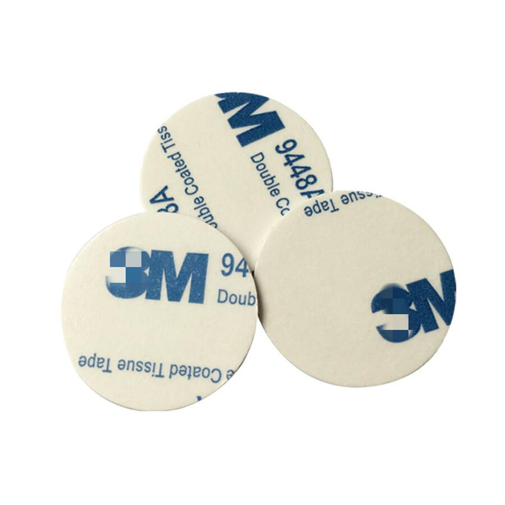 10pcs 13.56mhz Writable IC Circular MF1 1k RFID Tags Sticker PVC Card Smart Coin Card For IC Transponder