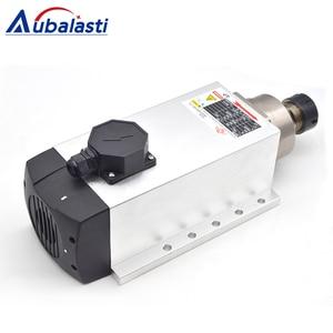 Image 4 - Aubalasti 7.5KW אוויר קירור ציר 380V + מהפך שלב אחד 220V כדי 3 שלב 380V 7.5KW הנוכחי 32A עבור CNC נתב מכונת