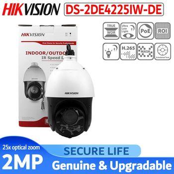 цена на Original PTZ IP Camera DS-2DE4225IW-DE 2MP Motorized 25X Zoom Speed Dome CCTV Camera IR 100m Lens 4.8-120mm