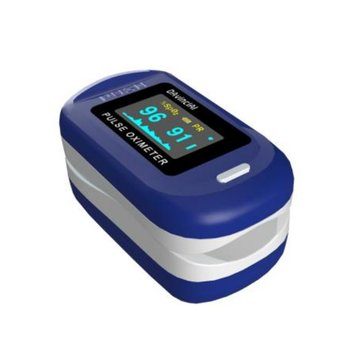 Finger Oximeter Fingertip Pulse Oximeter Equipment With Sleep Monitor Heart Rate Spo2 PR Pulse Oximeter image
