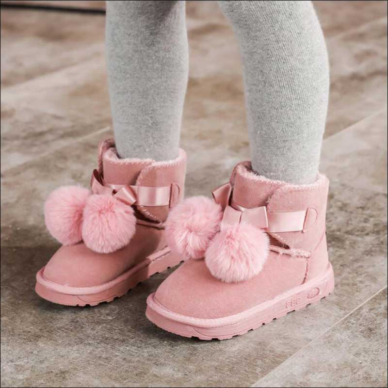 Snow Boots Children Winter 2019 Fur