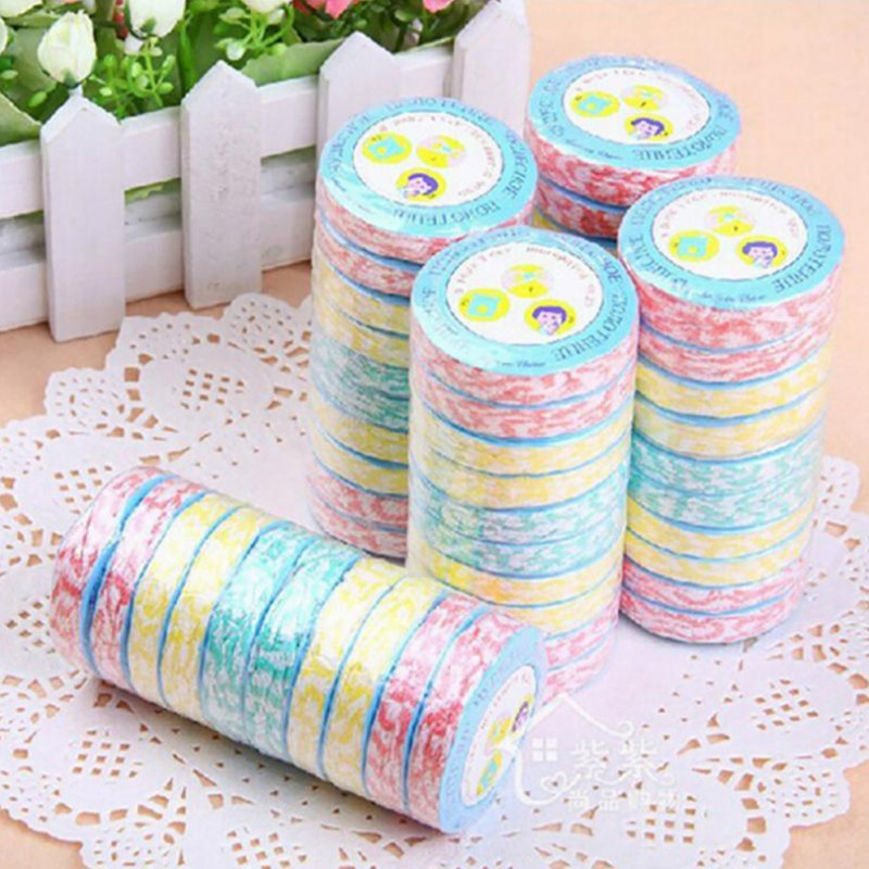 Random Color Disposable Towel Portable Compressed Cloth Face Towels Wipes Washcloth Outdoor Camping Picnic Travel Supplies
