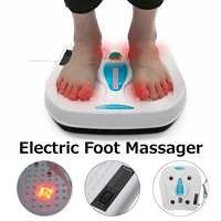 220V Electric Infrared Vibrator Foot Massager Infrared Acupuncture Heat Therapy Relaxing Fatigue Kneading Massager Health Care