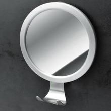 Зеркало заднего вида для душа с бритвенным крюком идеальное бритье без тумана для лица, крепкий замок на присоске, не подходит для семьи