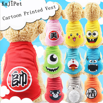 cartoon pet dog clothes cat dog t shirt clothing for dogs costume summer cat pet clothes dogs t shirt small pet shirt Hot Cute Dog Clothes For Small Dogs Chihuahua T-Shirt Cartoon Pet-Clothes Fashion Cat Clothes Pet Dog Clothes For Small Dogs Cat