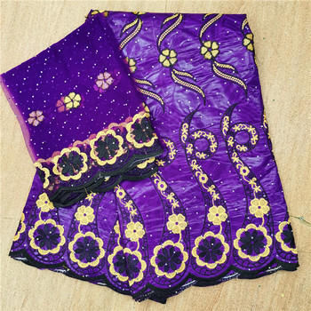 African lace bazin riche 2020 new african bazin fabric african tissu Jacquard brocade fabric for wedding dress H66-901