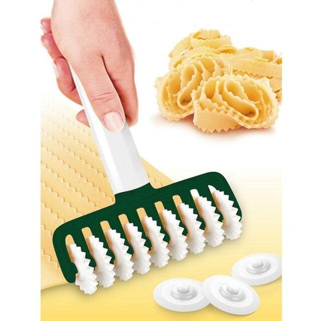 Multi-fonction coupe-pâte nouille Cutter ménage pâtes Cutter farine rouleaux outils cuisine outil nouveau