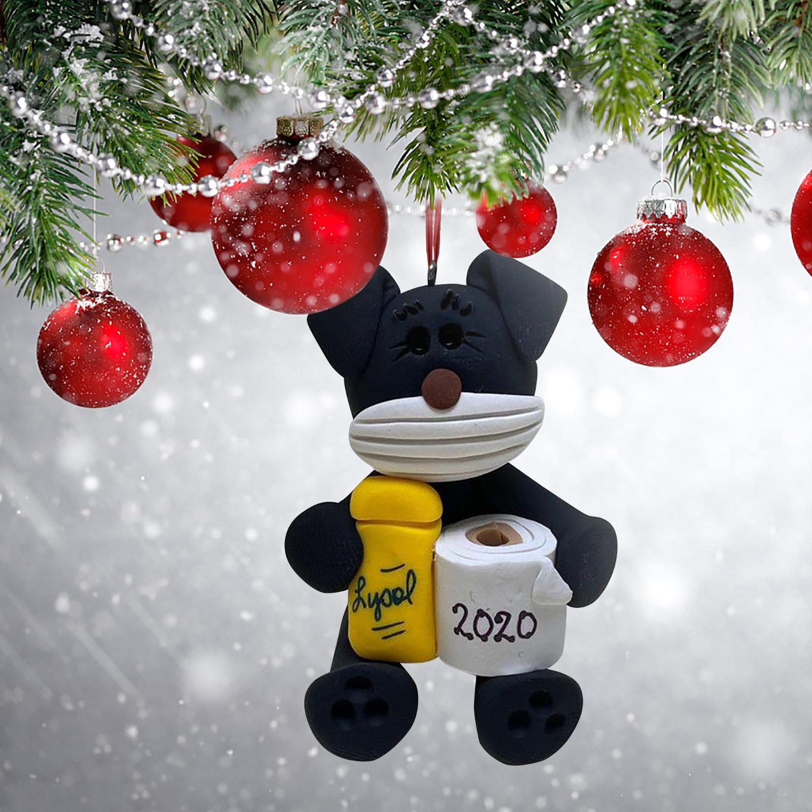 Персонализированные рождественские праздничные украшения 2020 для семьи выживших