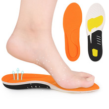 Mesh Sweat-absorbent Sports Correction Insole Casual Running Shock Absorption PU Foot Arch Support Comfortable Breathable insole