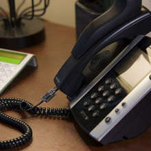 5 м длинная телефонная трубка приемник шнур телефонный кабель спиральная линия домашний офис абсолютно и высококачественный