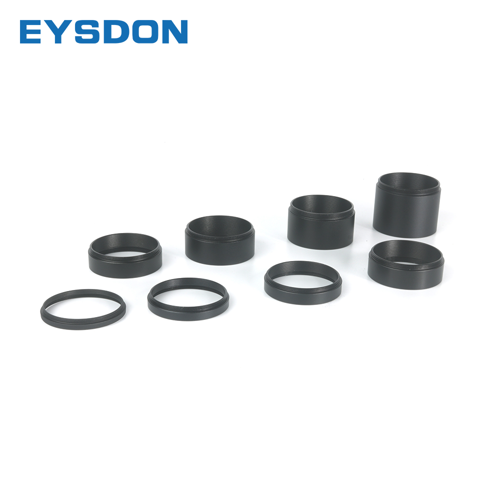EYSDON Focal Length Extension Tube Kits 3 5 7 10 12 15 20 30mm For Astronomical Telescope photography T2 Extending Ring