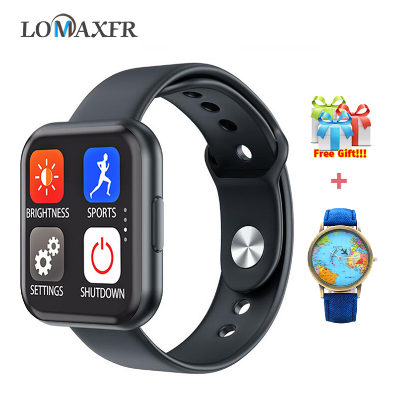 Smart Watch Android Watches for Women Fitness Bracelet Men SmartWatch Heart Rate Monitor Sport Wristband For iphone Pk P80 P70
