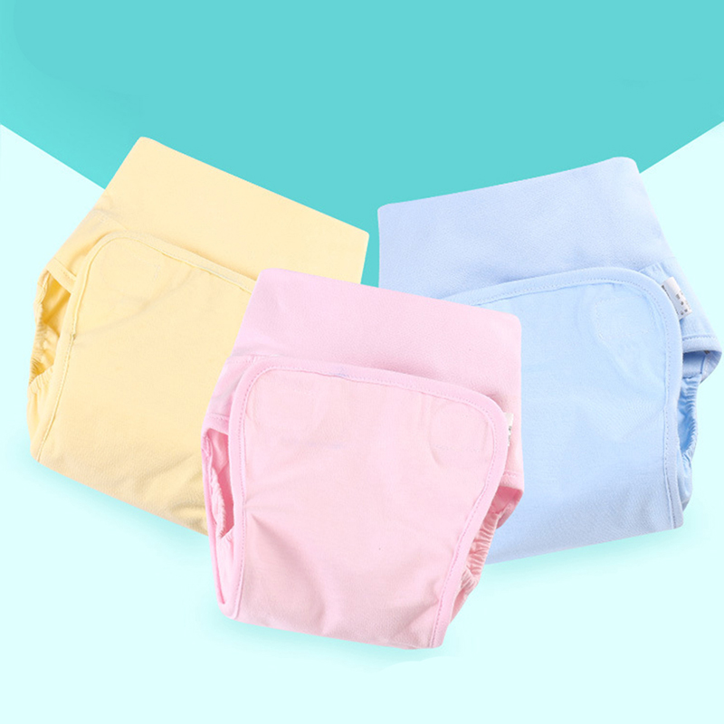 Baby Nappies Diaper Reusable Washable Cloth Diapers Nappy Cover Waterproof Newborn Baby Traning Panties Diapers Pocket