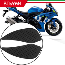 For Suzuki K9 Gsx r GSXR 1000 2015 2009 Motorcycle Tank Side Traction Pad Decal Gas Knee Grip Protector Non Slip Rubber Sticker