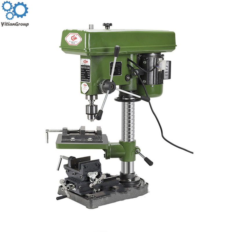 Stainless Steel Channel Steel Bench Drill Industrial Grade High Power Small Milling Machine