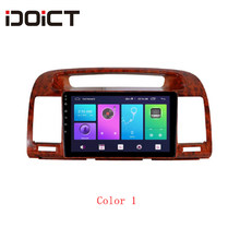 Idoict 8.1 2.5D Mobil Dvd Player Gps Navigasi Multimedia untuk Toyota Camry 2000-2003 Mobil Stereo Bluetooth(China)