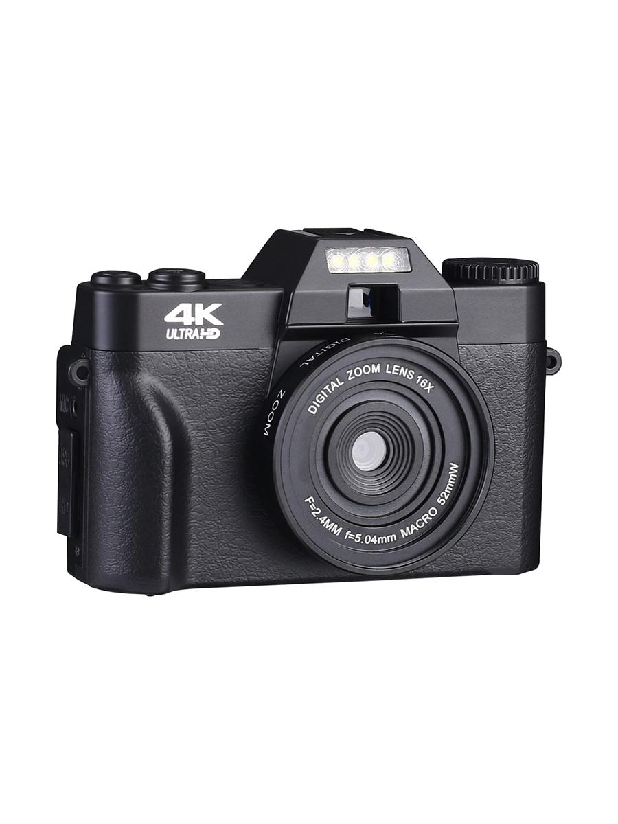 KOMERY Digital Camera 4K Camera 3.0 Inch LCD Flip Screen Video Camera 16X Digital Zoom HD Output Support WiFi Selfie Cam-4