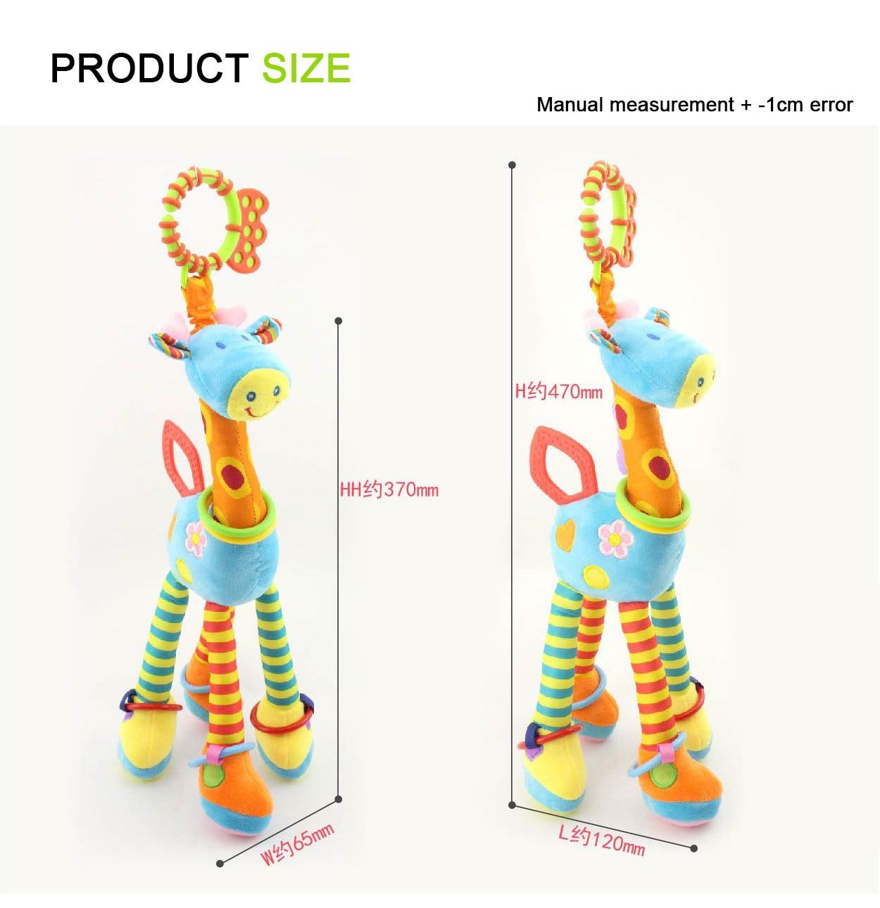 girafa, sino pendurado 0-12 meses